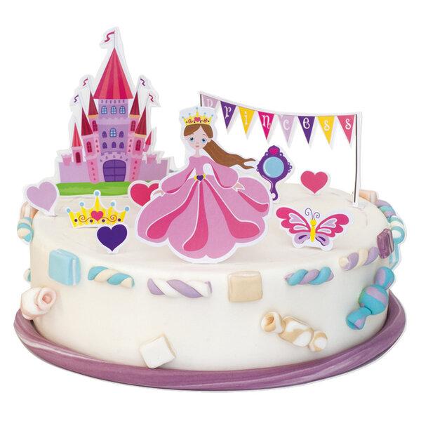 Torto dekoravimo rinkinys Princesė kaina ir informacija | Dekoracijos, indai šventėms | pigu.lt