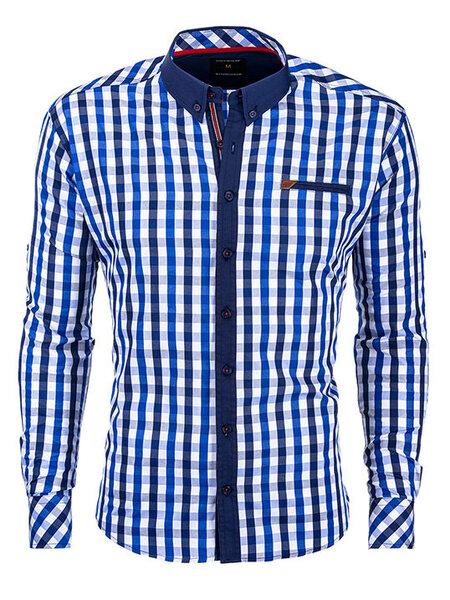 Vyriški marškiniai Ombre kaina ir informacija | Vyriški marškiniai | pigu.lt