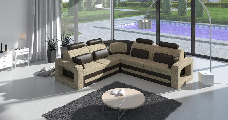 Minkštas kampas Bergamo kaina ir informacija | Sofos, foteliai ir minkšti kampai | pigu.lt