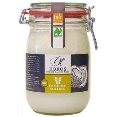 Kokosų aliejus stikliniame inde, ekologiškas (1 l) kaina ir informacija | Maisto produktai | pigu.lt