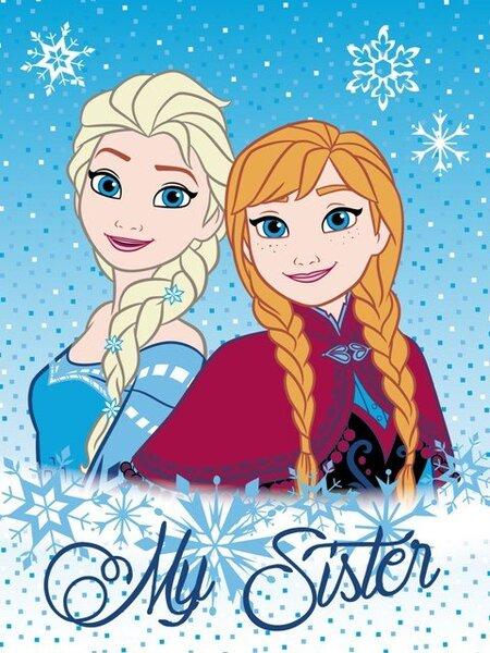 Vaikiškas pledas Frozen kaina ir informacija | Lovatiesės ir pledai | pigu.lt