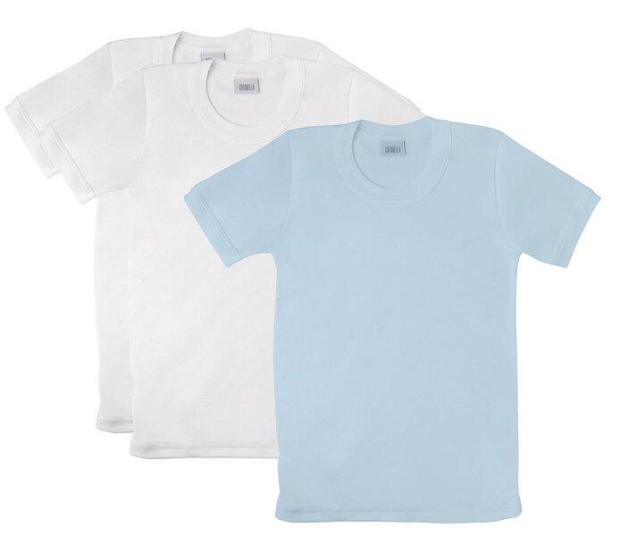 Marškinėliai berniukams Cotonella (3 vnt.) kaina ir informacija | Drabužiai berniukams | pigu.lt