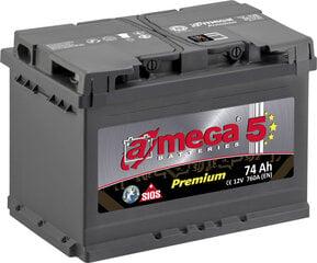 Akumuliatorius A-MEGA Premium 74Ah 760A kaina ir informacija | Akumuliatorius A-MEGA Premium 74Ah 760A | pigu.lt