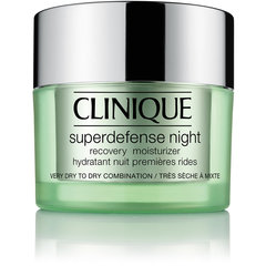 Drėkinamasis naktinis kremas Clinique Superdefense Night Recovery Moisturizer 50 ml