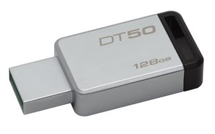 Atmintinė Kingston DataTraveler 50 128GB, USB 3.1
