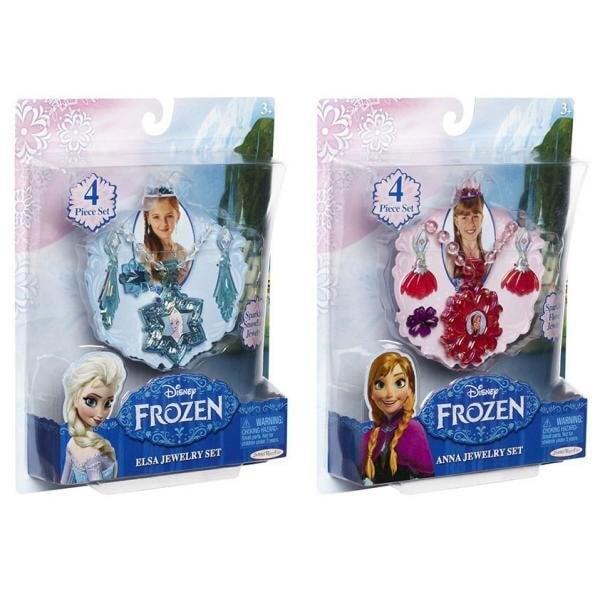 Papuošalų rinkinys Anna ir Elsa Frozen (Ledo Šalis), 63597, 1 vnt. kaina ir informacija | Žaislai mergaitėms | pigu.lt