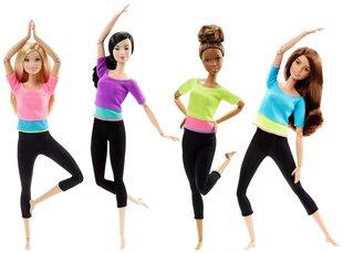 Lėlė Barbie jogos pratybose, DHL81, 1 vnt. kaina ir informacija | Žaislai mergaitėms | pigu.lt