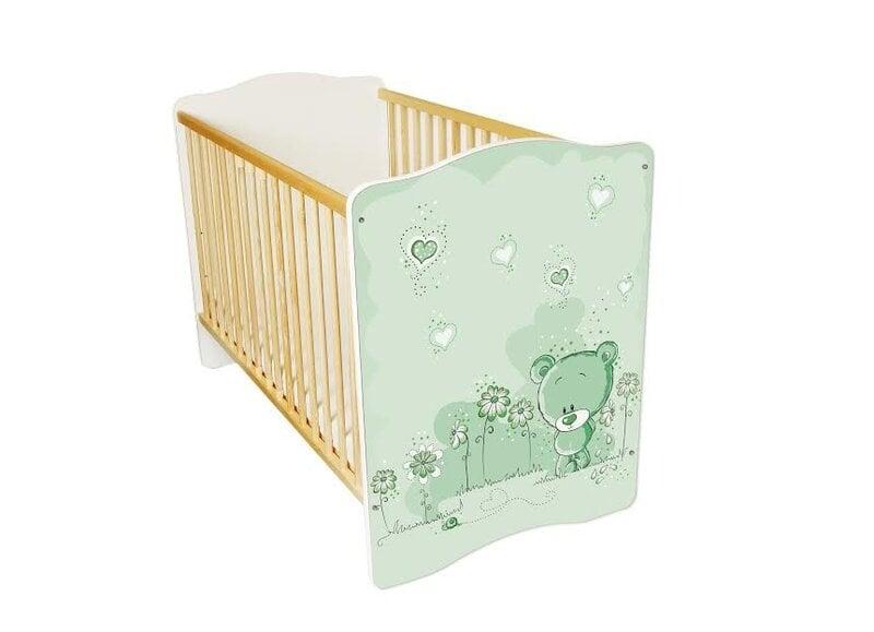 Kūdikio lovytė Amila Baby (18) kaina ir informacija | Vaiko kambario baldai | pigu.lt