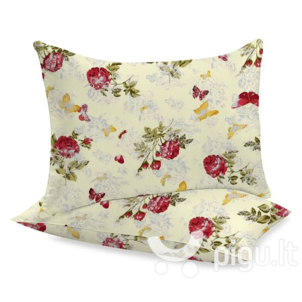 Medvilninis pagalvės užvalkalas 1, 2 dalių. kaina ir informacija | Dekoratyvinės pagalvėlės | pigu.lt