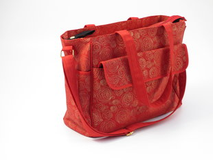 Mamos krepšys Summer Infant Messenger Red/Gold