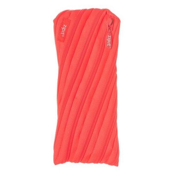 Penalas ZipIt Colorz Neon Twister, Glowing Peach kaina ir informacija | Kuprinės mokyklai, penalai, sportiniai maišeliai | pigu.lt