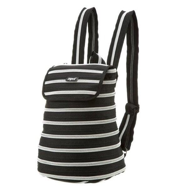 Kuprinė ZipIt Zipper, Black kaina ir informacija | Kuprinės mokyklai, penalai, sportiniai maišeliai | pigu.lt