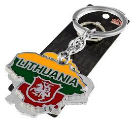 """Raktų pakabukas """"Lithuania"""" su vyčiu"""