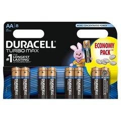 Baterijos DURACELL Turbo AA LR06 8vnt. kaina ir informacija | Elementai | pigu.lt