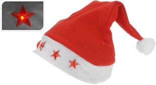 Kalėdinė kepurė su žvaigždėmis