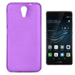 Apsauginis dėklas Forcell Jelly Brush Pearl skirtas Huawei P9, Violetinis kaina ir informacija | Telefono dėklai | pigu.lt