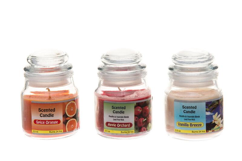 Kvapioji žvakė su dangteliu,1 vnt kaina ir informacija | Žvakidės, žvakės | pigu.lt