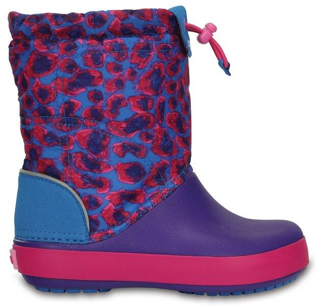 Aulinukai mergaitėms Crocs™ Crocband Lodge Point kaina ir informacija | Avalynė vaikams | pigu.lt