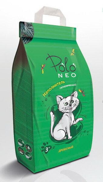Polo Neo medinis kraikas, 3 kg kaina ir informacija | Kraikas katėms | pigu.lt