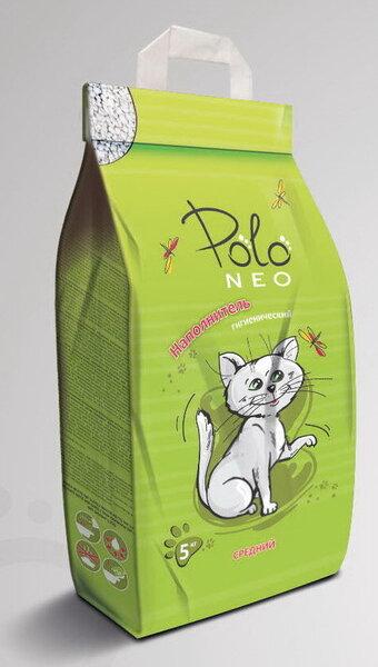 Polo Neo molinis, vidutinio stambumo kraikas, 5 kg. kaina ir informacija | Kraikas katėms | pigu.lt