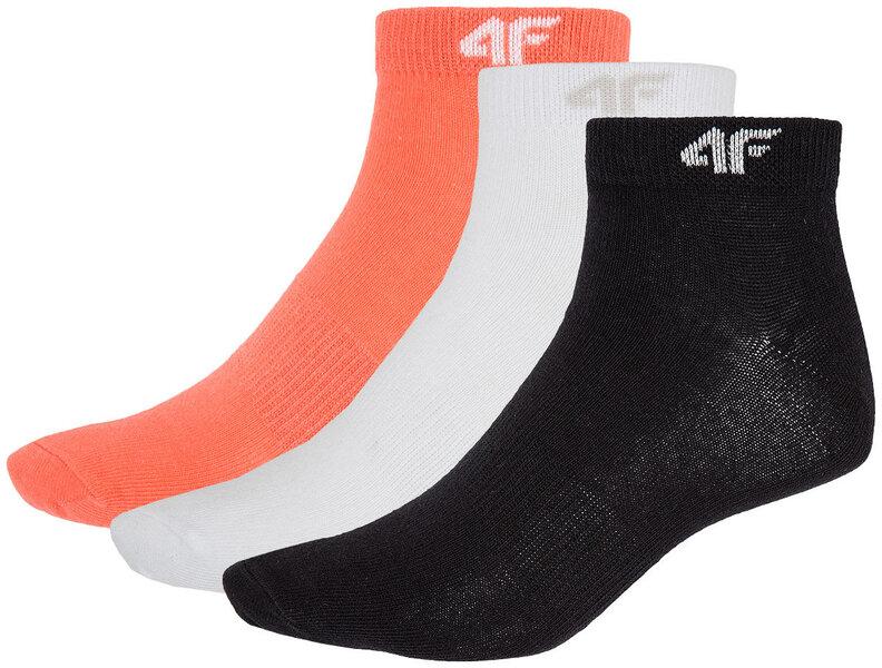 Kojinės moterims 4F (3 vnt.) kaina ir informacija | Pėdkelnės, kojinės | pigu.lt