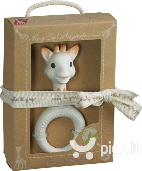 Kramtukas žiedas Vulli Sophie la Giraffe, 220117 kaina ir informacija | Žaislai kūdikiams | pigu.lt
