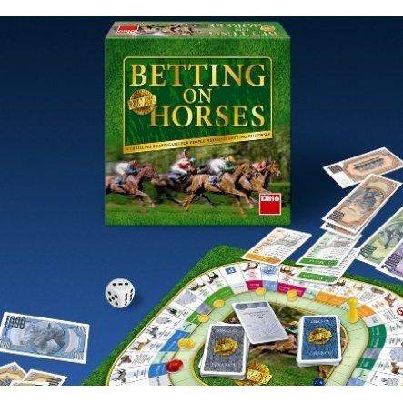 Stalo žaidimas Dino Betting on Horses, 741133 (estų kalba) kaina ir informacija | Lavinamieji žaislai | pigu.lt