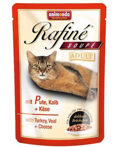Animonda Rafine konservuota sriuba su kalakutiena, veršiena ir sūriu, 100 g kaina ir informacija | Konservai katėms | pigu.lt