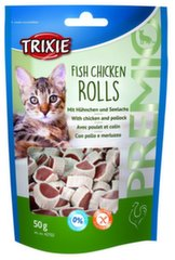 Fish Chicken Rolls, 50 g