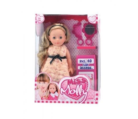 Lėlė su aksesuarais Miss Molly Bambolina, 36 cm, BD1370 kaina ir informacija | Žaislai mergaitėms | pigu.lt