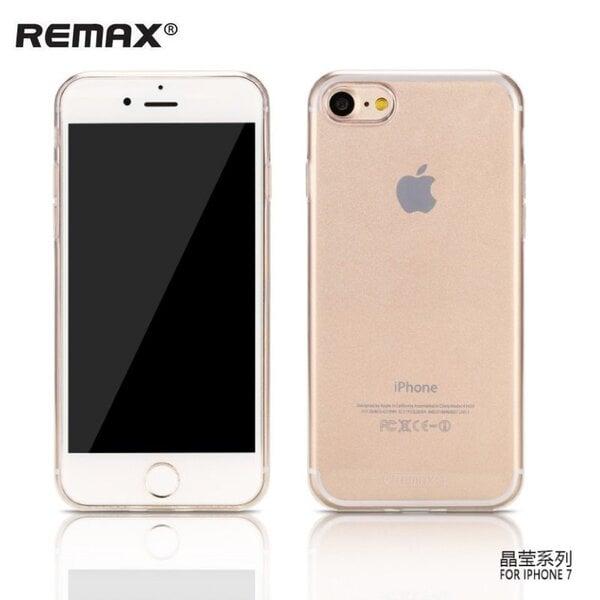 Apsauginis dėklas Remax Crystal skirtas Apple iPhone 7, Skaidrus kaina ir informacija | Telefono dėklai | pigu.lt