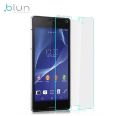 Blun Extreeme Shock 0.33mm / 2.5D apsauginis stiklas telefonui Sony D6603 Xperia Z3