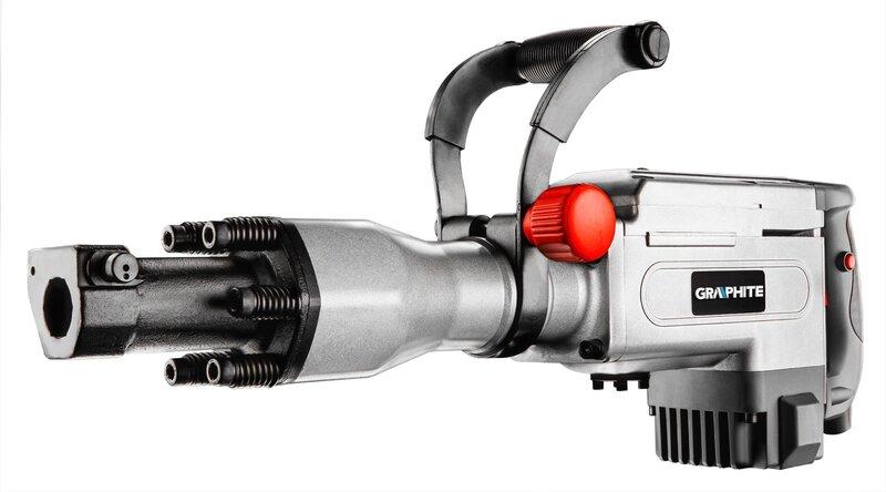 Kirstuvas Graphite 1700W HEX 58G867 kaina ir informacija | Suktuvai, gręžtuvai | pigu.lt