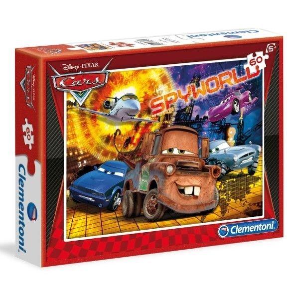 Dėlionė Puzzle Clementoni Ratai (Žaibas Makvynas), 60 det. kaina ir informacija | Dėlionės (puzzle) | pigu.lt