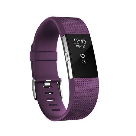 Fitbit Charge 2 L, Violetinė kaina ir informacija | Išmanieji laikrodžiai ir apyrankės (smartwatch, smartband) | pigu.lt