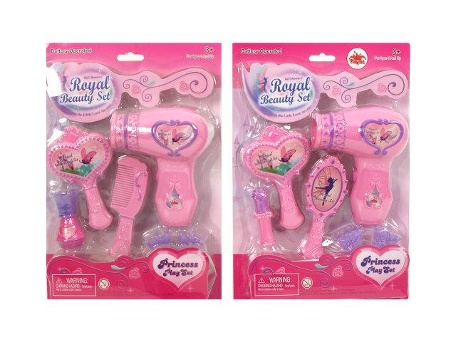 Grožio rinkinys su plaukų džiovintuvu, 1 vnt. kaina ir informacija | Žaislai mergaitėms | pigu.lt