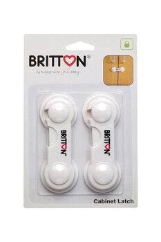 Durų apsauga BRITTON, 1 vnt. kaina ir informacija | Mobilios auklės, apsaugos | pigu.lt