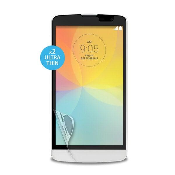 Dvi apsauginės ekrano plėvelės LG L Bello telefonams SDLBELLOLG kaina ir informacija | Apsauginės plėvelės telefonams | pigu.lt