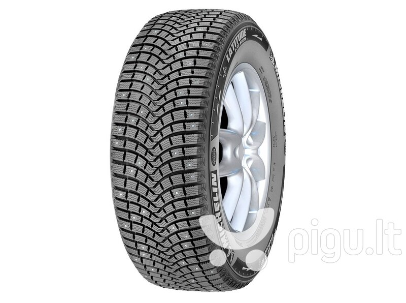 Michelin LATITUDE X-ICE NORTH LXIN2+ 225/55R18 102 T XL kaina ir informacija | Padangos | pigu.lt