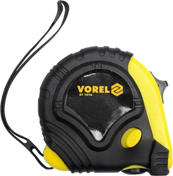 Ruletė Vorel 2m x 16 mm kaina ir informacija | Mechaniniai įrankiai | pigu.lt