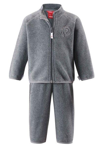 Komplektas Reima Etamin, 74-98 cm, pilkas kaina ir informacija | Drabužiai kūdikiams | pigu.lt
