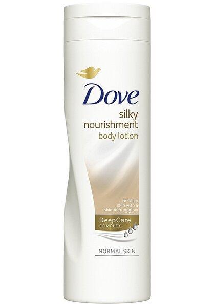 Kūno losjonas Dove Silky Nourishment 250 ml kaina ir informacija | Kremai, losjonai kūnui | pigu.lt