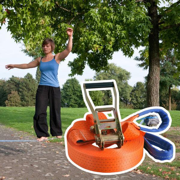 Vaikščiojimo lynas inSPORTLine ergo 25 m kaina ir informacija | Šokdynės, skersiniai ir kitos fitneso prekės | pigu.lt
