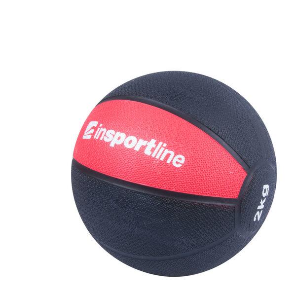 Svorinis kamuolys inSPORTline MB63 kaina ir informacija | Šokdynės, skersiniai ir kitos fitneso prekės | pigu.lt