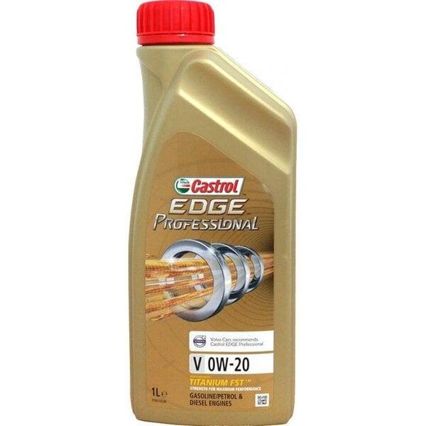 Castrol Edge Professional V 0W-20 variklio alyva, 1L kaina ir informacija   Variklinės alyvos   pigu.lt