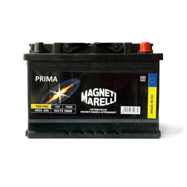 Akumuliatorius Magneti Marelli Prima 74Ah 680A kaina ir informacija | Akumuliatoriai | pigu.lt