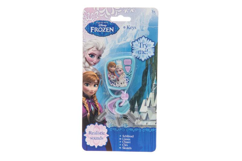 Vaikiški raktai su garsais Ledo Šalis (Frozen) kaina ir informacija | Žaislai mergaitėms | pigu.lt