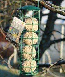 Metalinė lesykla riebaliniam maistui kaina ir informacija | Inkilai, lesyklėlės, narvai | pigu.lt