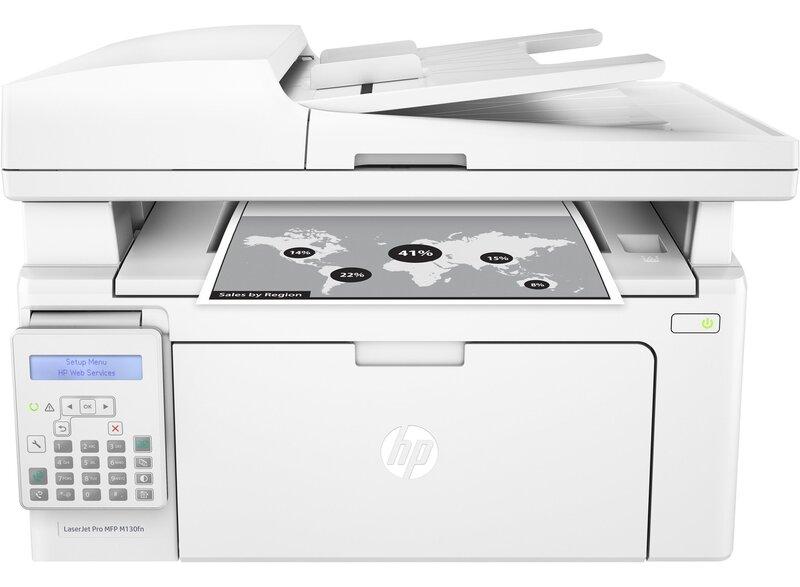 HP LaserJet Pro M130fn lazerinis nespalvinis įrenginys kaina ir informacija | Spausdintuvai | pigu.lt
