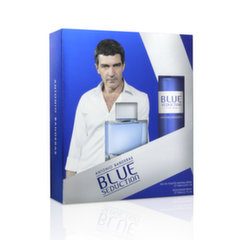 Rinkinys Antonio Banderas Blue Seduction: EDT vyrams 100 ml + dezodorantas 150 ml